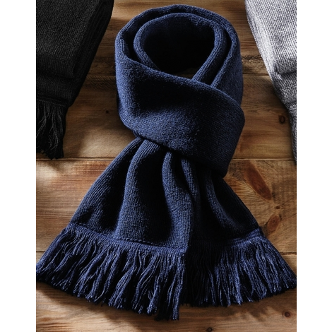 Classic Knitted Scarf-BEECHFIELD